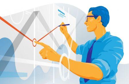 如何使用趋势线在ExpertOption上交易回撤?