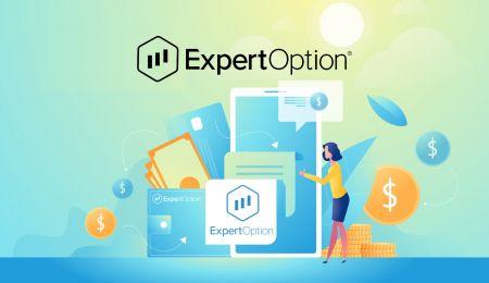 如何在 ExpertOption 开户和存款