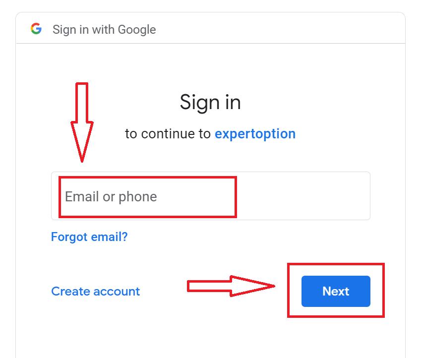 如何在 ExpertOption 中使用模拟账户注册和开始交易